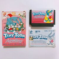 Tiny Toon Adventures Famicom with box and manual Japan games FC NES