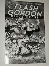 Dynamite FLASH GORDON KINGS CROSS #2 Hamm 1:10 Sketch Variant NM