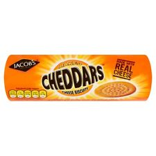 Jacobs Cheddars Cheddar Cheese Biscuits 150g x 2