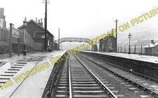 Brithdir Railway Station Photo. Bargoed - Tir Phil & New Tredegar. Rhymney. (1)