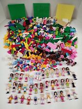 LEGO Friends Lot of Minifigures & Pieces 4lbs.
