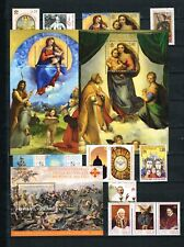 2012 Vatikan Jahrgang postfrisch