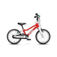 NEU 2021 WOOM 2 + Seitenständer + Klingel Kinderfahrrad 14 Zoll, ROT Fahrrad