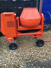 BELLE 100XT DIESEL SITE CEMENT MIXER YANMAR ENGINE KEY START SELF BUILD SITEWORK