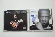 JAY-Z - WISHING ON A STAR CD SINGLE + THE BLUEPRINT 2 CD ALBUM