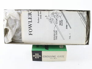 Fowlers HO Scale Slow Motion Crossing Gate Kit #300