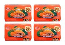 Asantee Thai Papaya Herbal Skin Whitening Soap 125 g (Pack of 4)