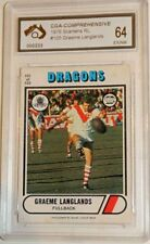 Graeme Langlands Single NRL & Rugby League Trading Cards