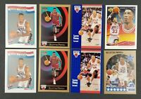 Lot of 8 1990s Scottie Pippen Basketball Cards Chicago Bulls NBA