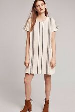 Anthropologie Luna Fringed Tunic Dress by Moon River Size Medium