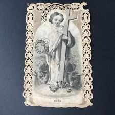 CANIVET PASTRE DEFERNEVILLE N°117 NOEL  HOLY CARD 19thC Santino