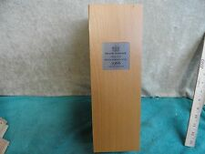 1966 LIMITED EDITION TAYLOR FLADGATE PORT WOOD WINE BOX COMPLETE HINGED LID