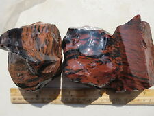 1094  FLASHY MAHOGANY OBSIDIAN FROM OLD TIME ROCK SHOP.  PRETTY TO CAB OR KNAP