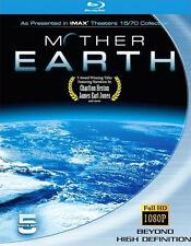Mother Earth . IMAX . Africa Ocean Oasis Alaska Australia Antarctica . 5 Blu-ray