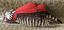 Very Rare Vintage B. Kliban Stuffed Cat, Red Scarf Flying 21� Plush Pillow