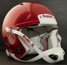 Riddell Revolution SPEED Classic Football Helmet (Color METALLIC PEARL CARDINAL)