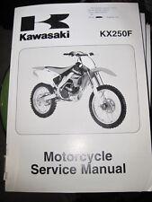 Kawasaki KX250D/F  2006  Manual
