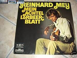Reinhard Mey - Mein achtel lorbeerblatt - LP