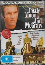 DVD DOUBLE FEATURE - LITTLE MOON & JUD MCGRAW & THE MCMASTERS - JAMES CAAN -