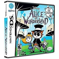 Alice in Wonderland (Nintendo DS, 2010) COMPLETE  FAST SHIPPING  LIKE NEW