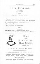1946 Lucton School Herefordshire Bow College Cameron Jackson School Ad