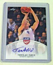 2012 Leaf Basketball Rookie Autograph Tomislav Zubcic Toronto Raptors