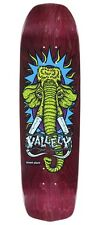 Street Plant Mike Vallely WOOLLY MAMMOTH MODERN Skateboard MAROON STAIN New Deal