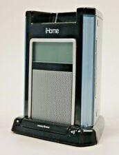 Ihome Black Ih4b Ipod Iphone Alarm Speaker Docking Station Black