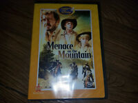 Disney MENACE ON THE MOUNTAIN DVD: The Wonderful World of Disney