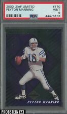 2000 Leaf Limited #170 Peyton Manning Indianapolis Colts /2000 PSA 9 MINT