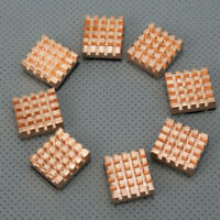 8x Pure Copper Memory Chipset Cooler HeatSink Heat Sink For IC DDR RAM VGA SDRAM