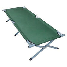 Collapsible Aluminum Alloy Camping Bed Cot with Travel Bag