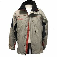 Columbia Mens Core Interchange Omni Tech Waterproof Breathable Large Winter Coat