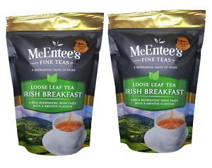 McEntee's IRISH BREAKFAST Tea – MULTIPACK VALUE 2 X 250g Bag - FROM IRELAND