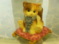 "Calico Kittens ""Blue Ribbon Friend"" event figurine 1998, 3"" tall"