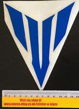 1x Gloss Blue MT-07  Logo Sticker 150mm Tall X 125mm Stickers Decal