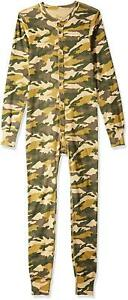 Carhartt Midweight Union Suit One Piece Base Layer Long Underwear K226 Camo Hunt
