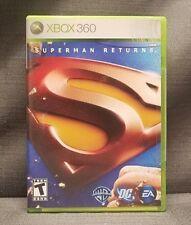 Superman Returns (Microsoft Xbox 360, 2006) Video Game