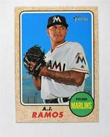 2017 Topps Heritage #309 A.J. Ramos - NM-MT