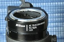 """Nikon Nikkor AF Teleconvertor TC-16A """"modified"""" in great condition"""