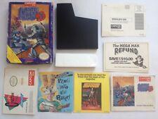 Mega Man 3 Nintendo NES NTSC-US Original Box, Manual, Poster Capcom (NO GAME)