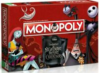 NIGHTMARE BEFORE CHRISTMAS MONOPOLY WINNING MOVES GERMAN EDITION  NEU TOP