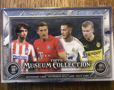 2019-20 TOPPS UEFA CHAMPIONS LEAGUE MUSEUM COLLECTION SOCCER HOBBY BOX FREE SHIP