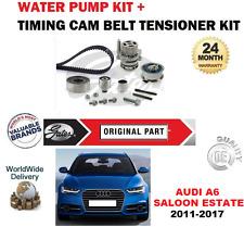 FOR AUDI A6 2.0 TDi 16V 2011-2017 TIMING CAM BELT SET + WATER PUMP SALOON ESTATE