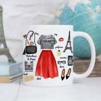 Coffee Mug Paris Fashion Coffee Cup Eiffel Tower Mug Paris Cup France Mug
