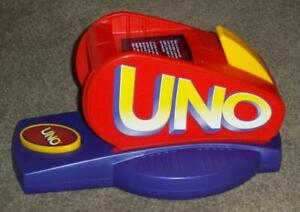 1998 MATTEL UNO ATTACK CARD LAUNCHER ONLY, WORKING