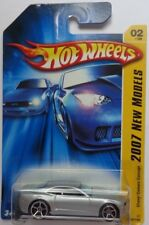 2007 Hot Wheels NEW MODELS Chevy Camaro Concept 2/36 (Silver Version)