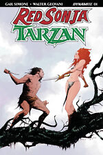 RED SONJA TARZAN #1 COVER B JAE LEE VARIANT DYNAMITE ENTERTAINMENT COMICS