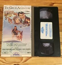 The Great Adventure, (VHS, 1985) Joan Collins, Jack Palance, Fred Romer