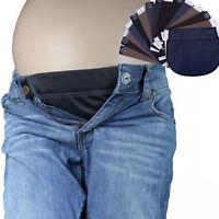 EG_ Maternity Pregnant Waistband Belt Adjustable Elastic Pants Waist Extender Sh